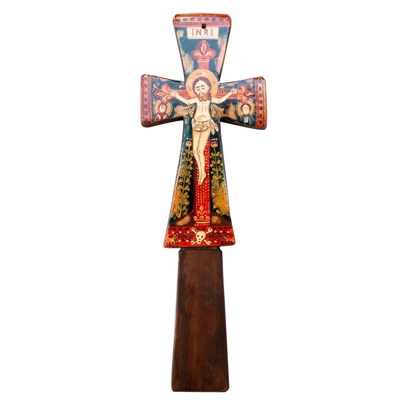 Blessing cross, model 1, wood, 7x23cm