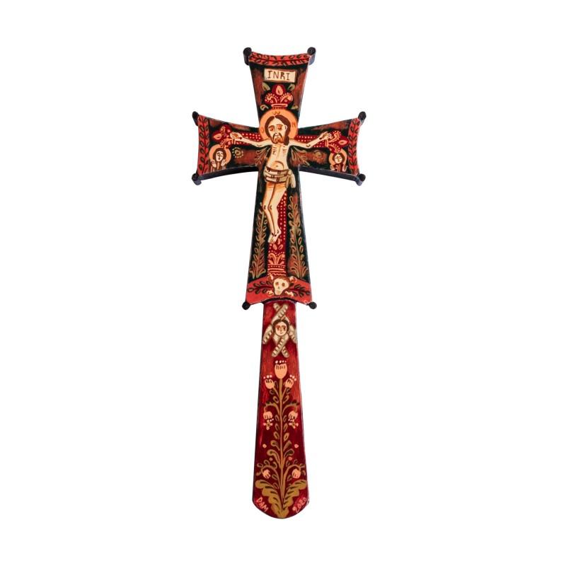Wooden Blessing cross, model 2, 6x17 cm
